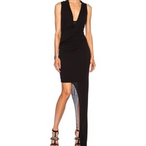HELMUT LANG Long Slack Jersey Modal Dress S